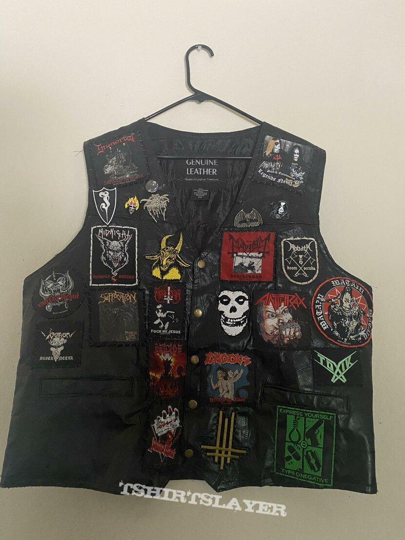 Battle Leather Vest