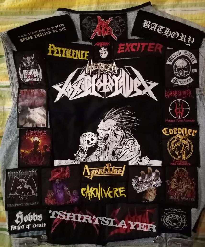 Kutte - Toxic Holocaust backpatch (FINISHED!!!)