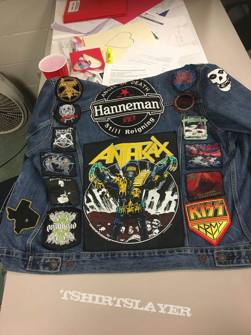 My first battlejacket updated
