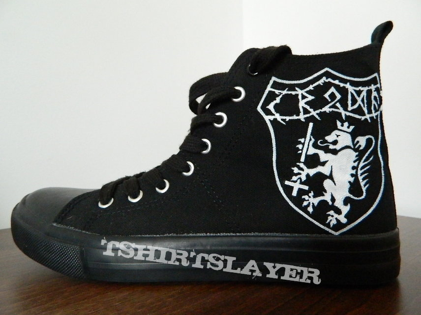 Kroda Die with Your God shoes hand painted