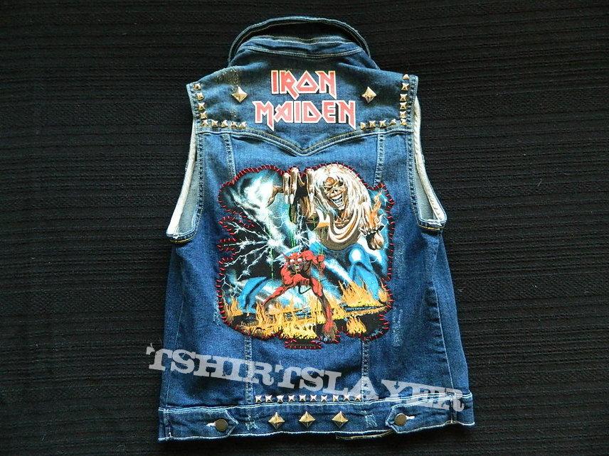 Iron Maiden hand made battle vest