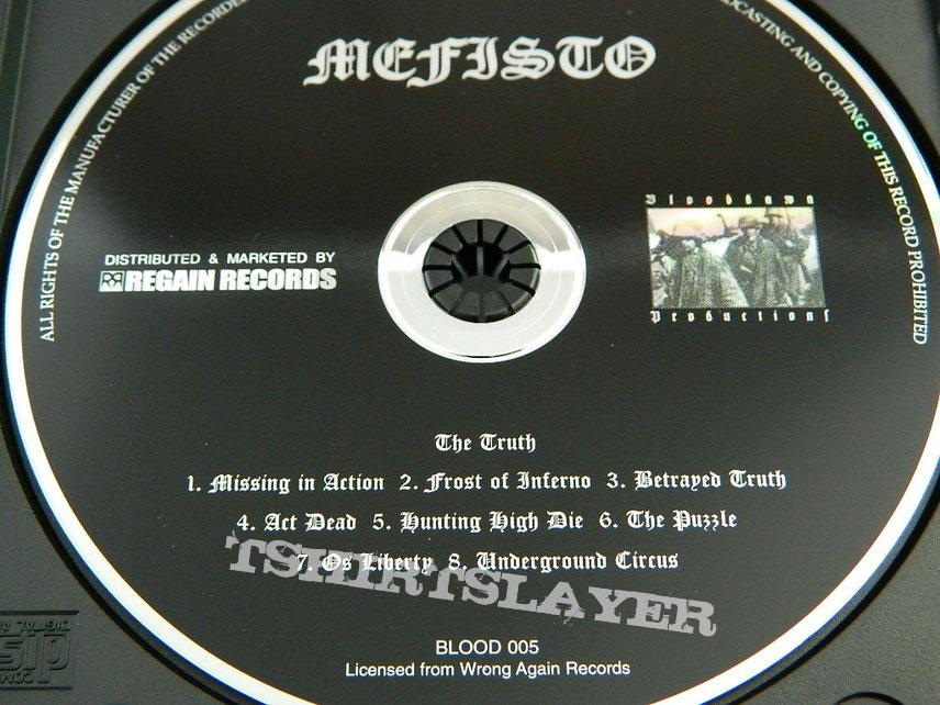 Mefisto, The Truth, 1st press