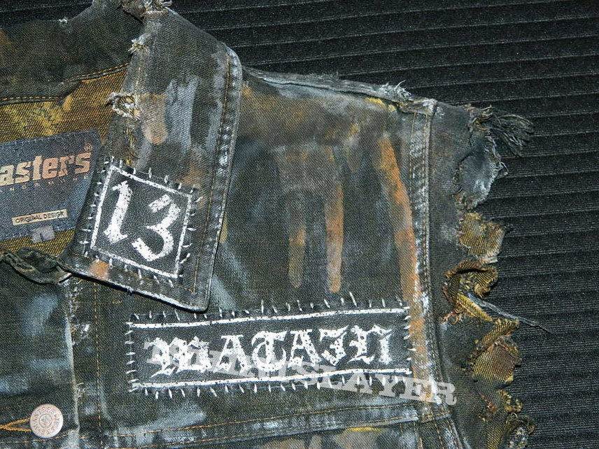 Watain denim vest