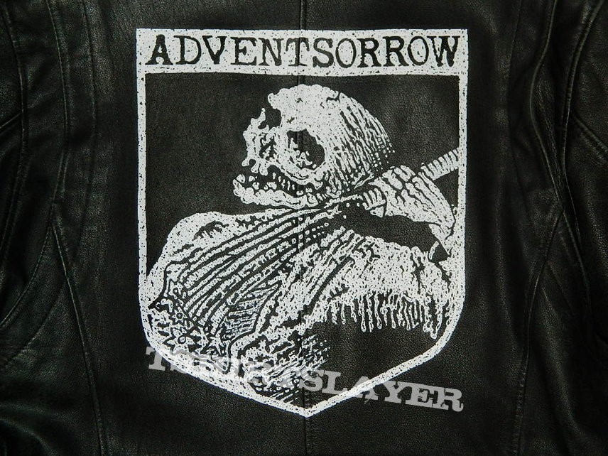 Advent Sorrow  DSBM hand painted jacket - custom order