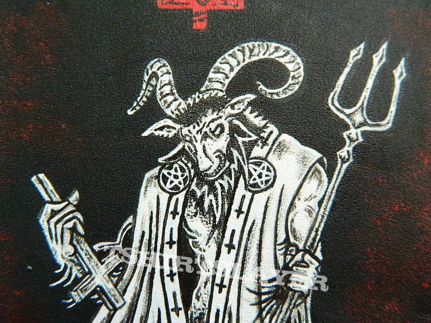 Beherit DIY Hand-Painted On Leather/Back Patch