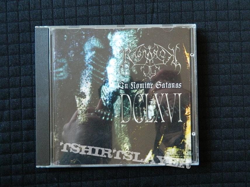 Ragnarok In Nomine Satanas 2002 Regain Records  RR 0111-012