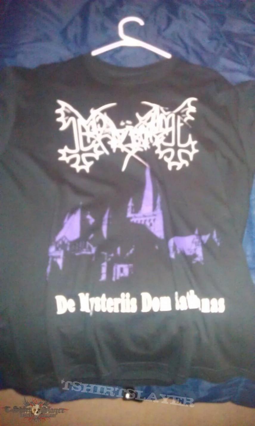 "TShirt or Longsleeve - Mayhem tshirt"" de mysteriis dom sathanas"""
