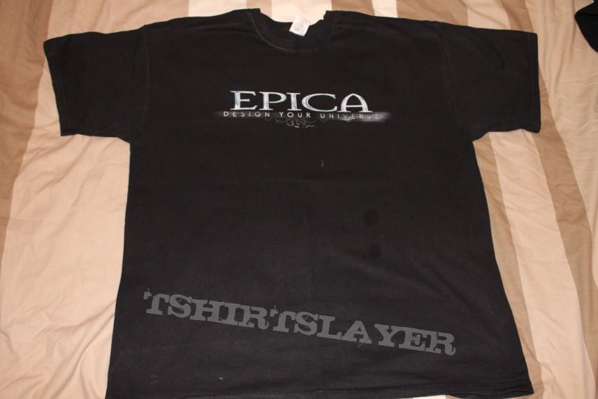 Epica 'Design Your Universe' tshirt
