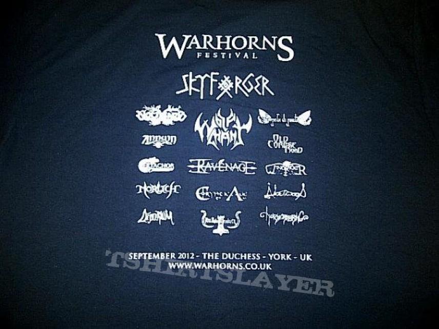 TShirt or Longsleeve - Warhorns Fest 2012 tshirt