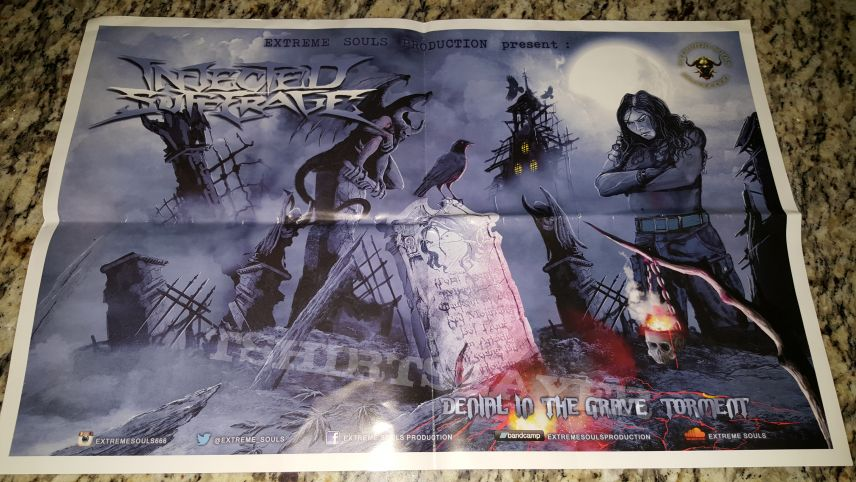 Injected Sufferage - Denial in the Grave Torment POSTER