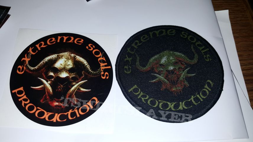 Extreme Souls Production PATCH & STICKER
