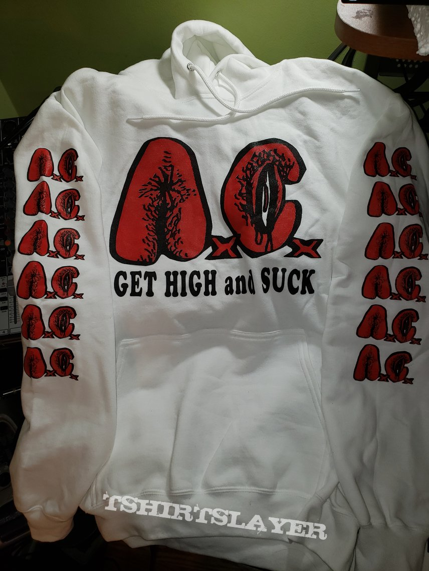 Anal Cunt - Get High and Suck hoodie