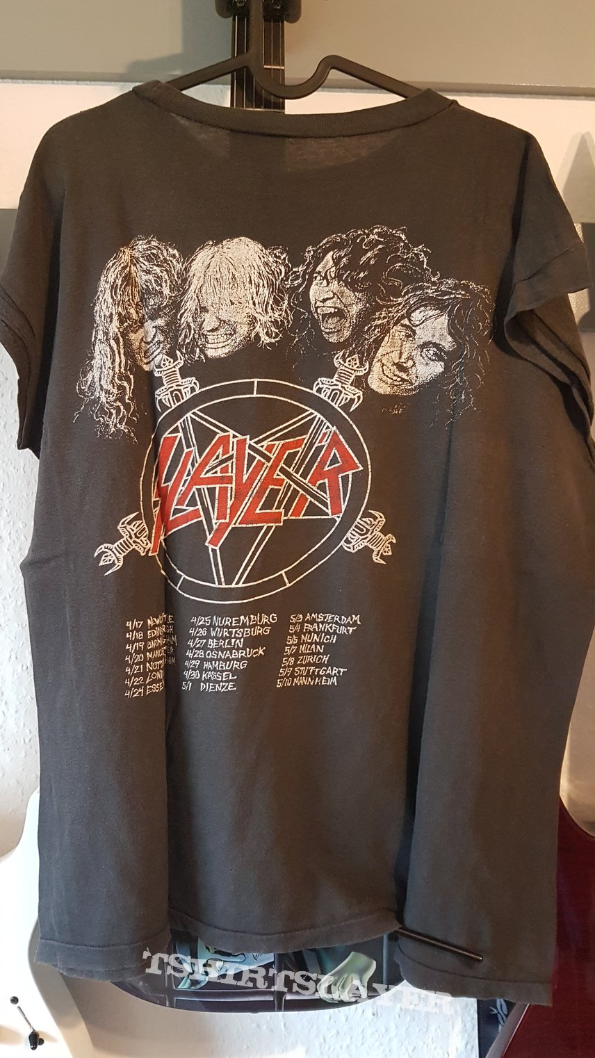 Slayer Reign in Blood '86 TS