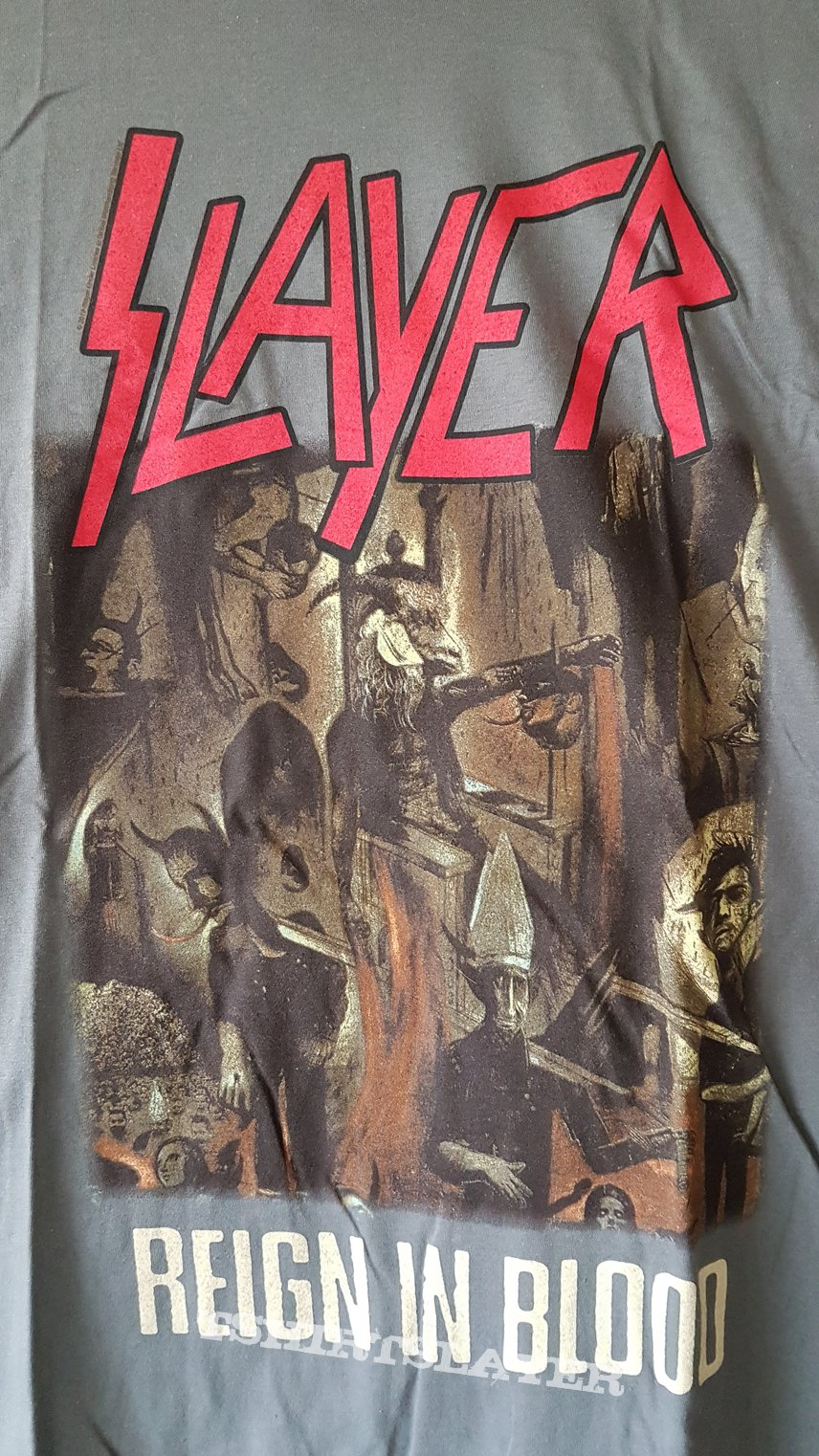 Slayer Reign in Blood Classic TS