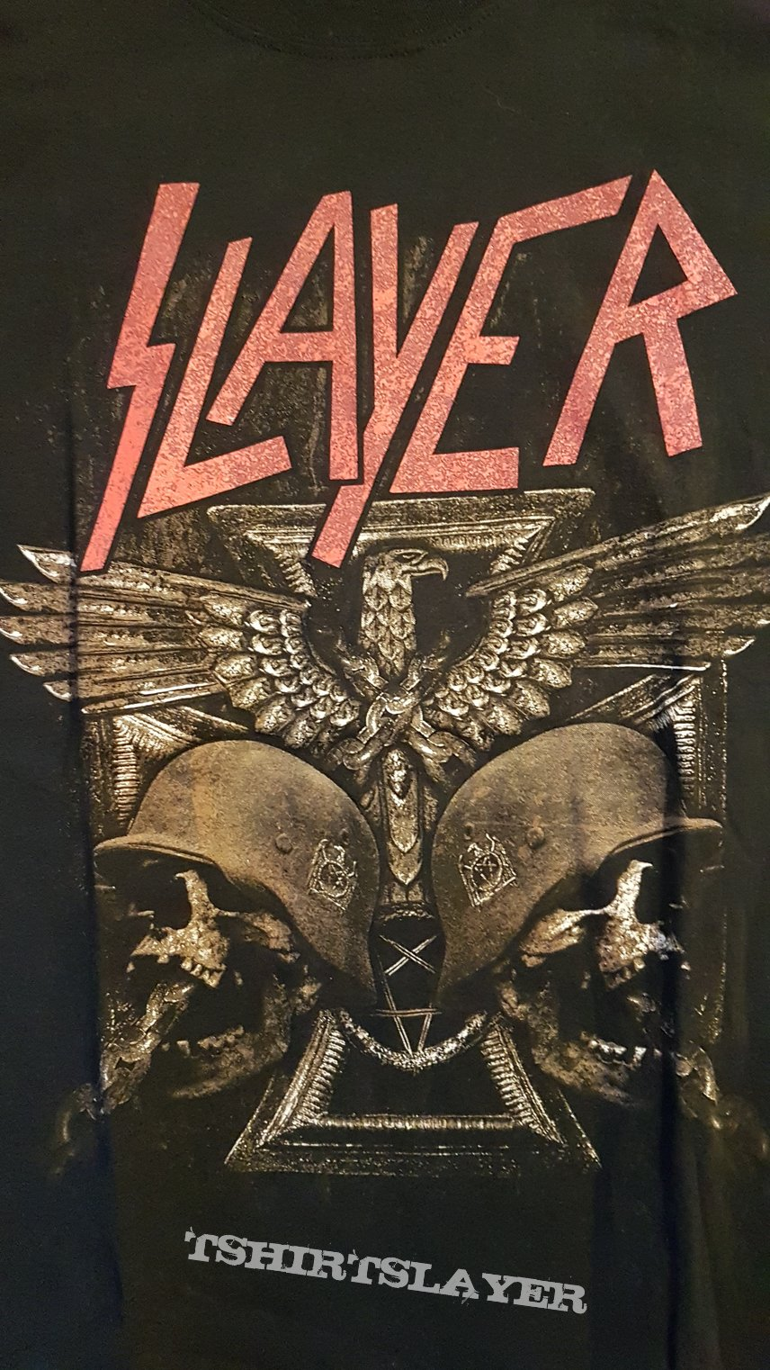 Slayer soldiers Helm Tourshirt'16 TS