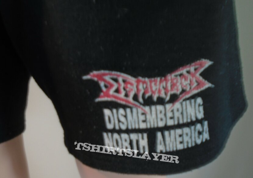 Dismember 'Dismembering North America' Shorts