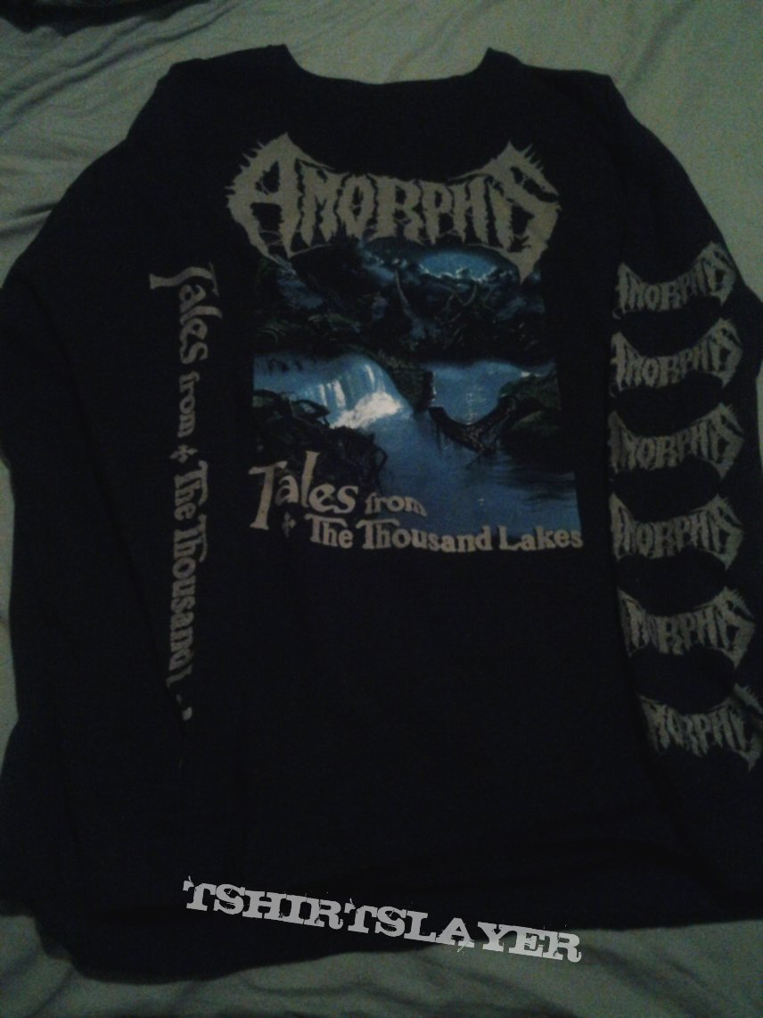 amorphis - tales from the thousand lakes longsleeve shirt