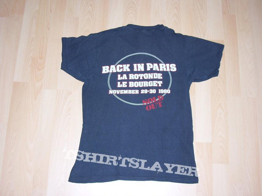 Paris 1980 Back in Black Tour