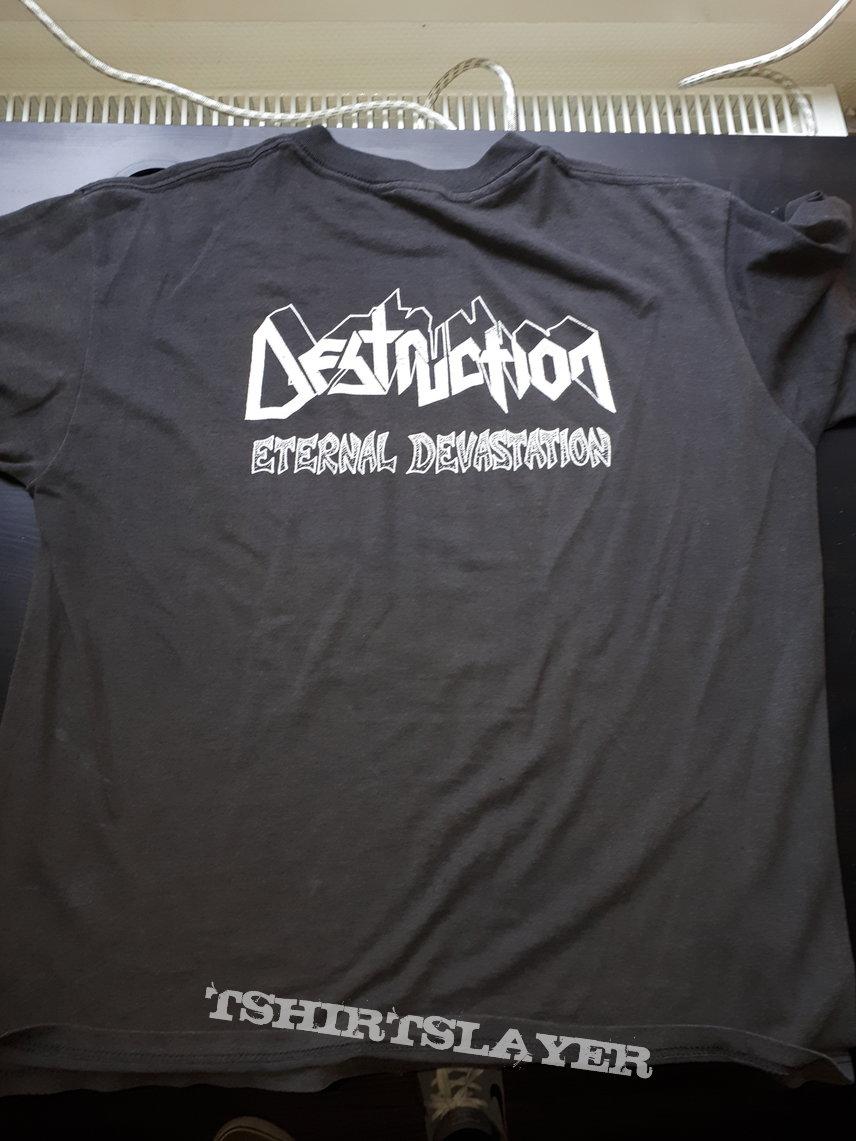 Destruction eternal devastation shirt vintage