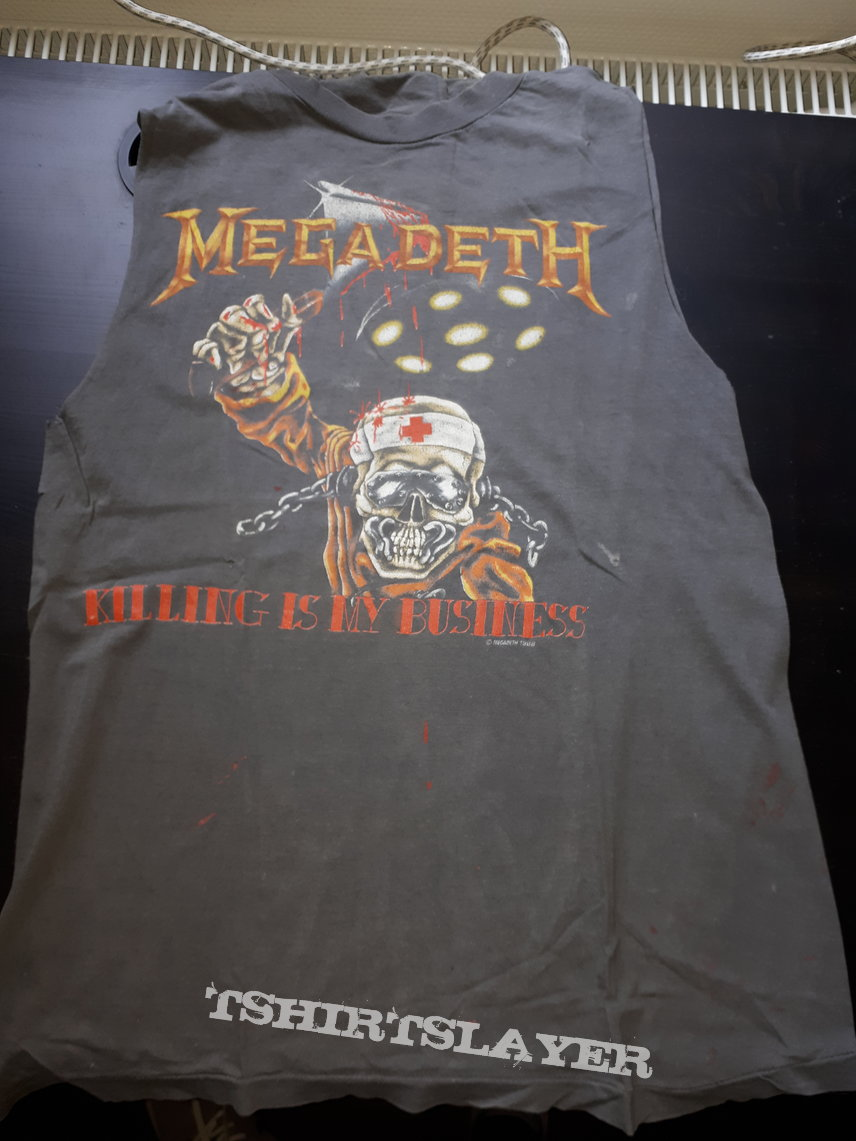 Megadeth killing is my Business shirt