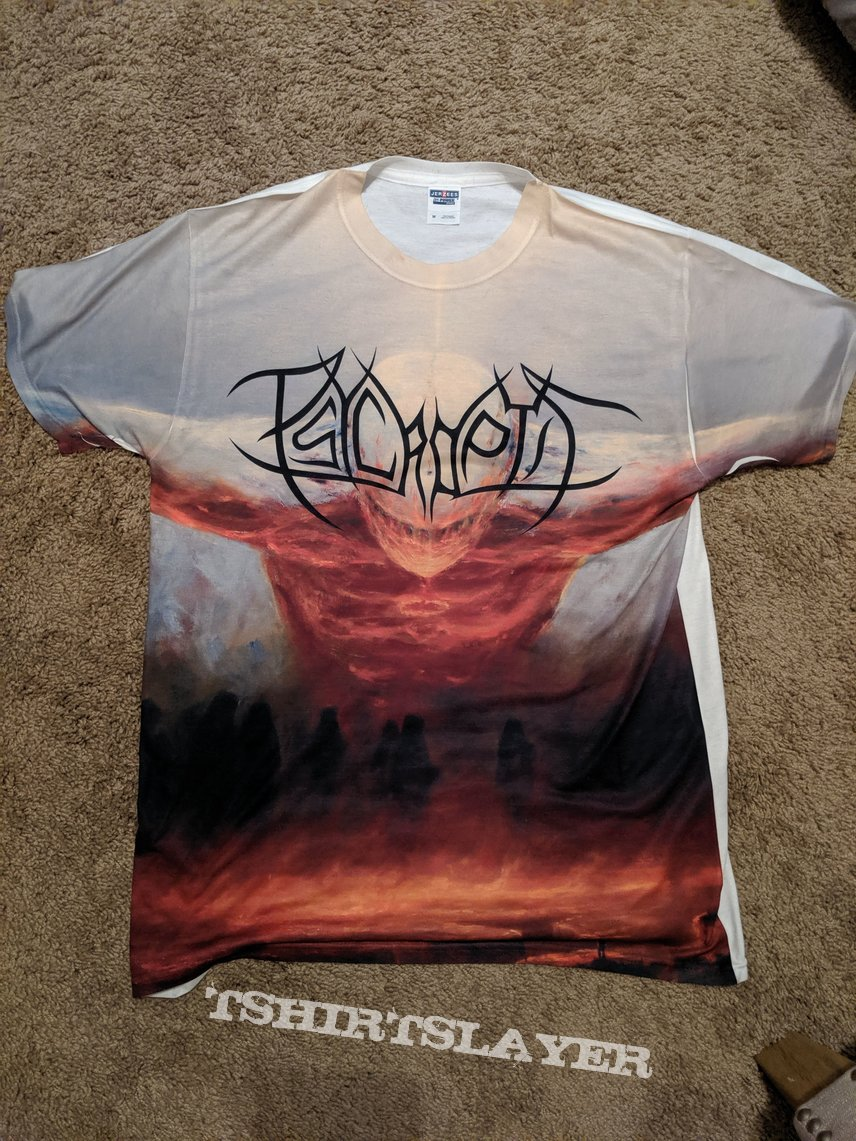 Psycroptic - As the Kingdom Drowns shirt (all over print)