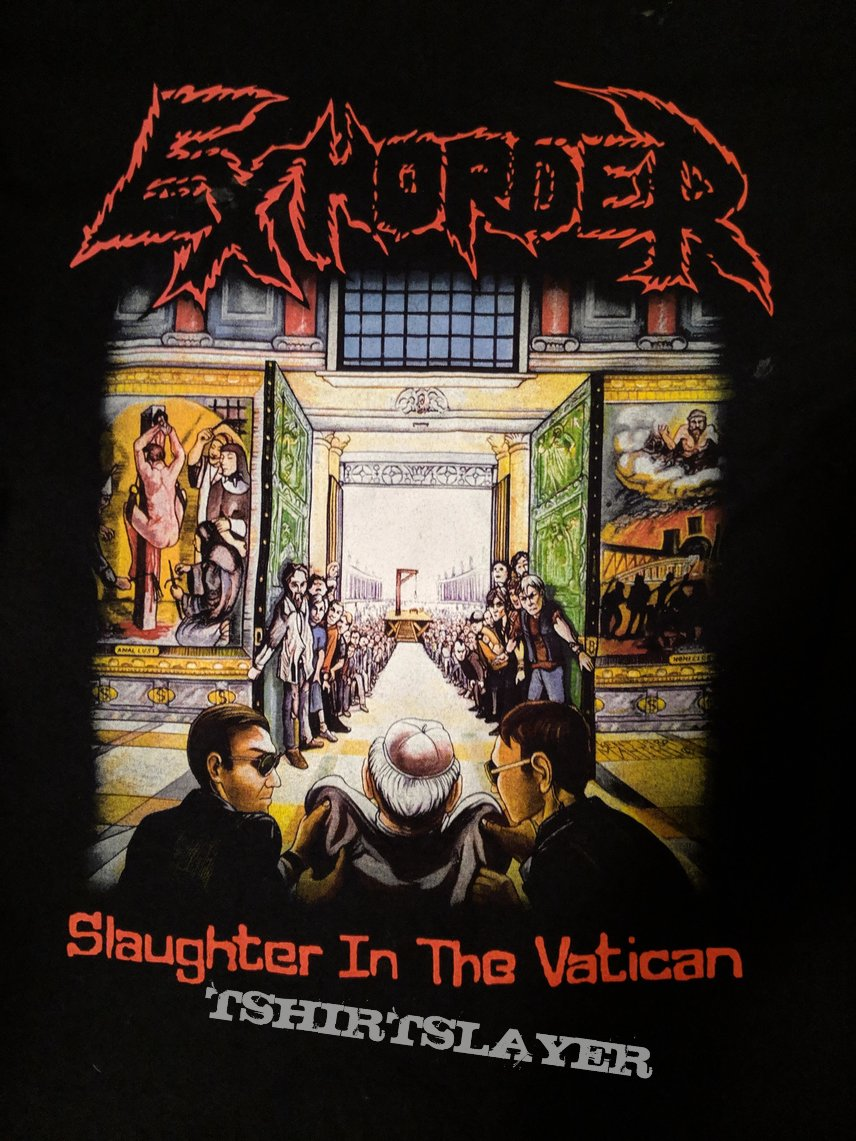 Exhorder - Slaughter in the Vatican shirt