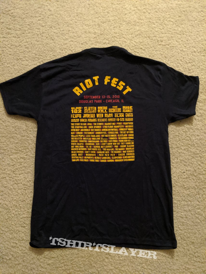 Riot Fest 2019 event shirt