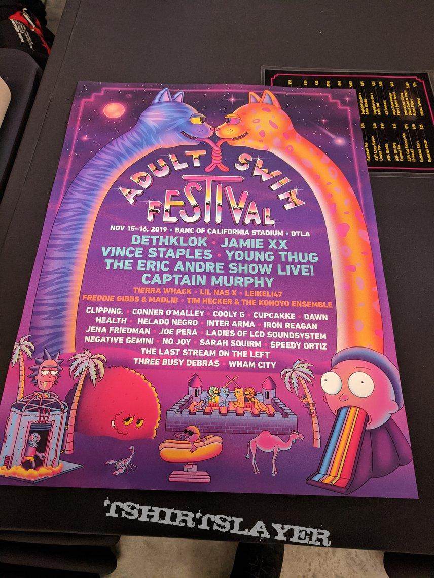 Adult Swim Festival 2019 event poster