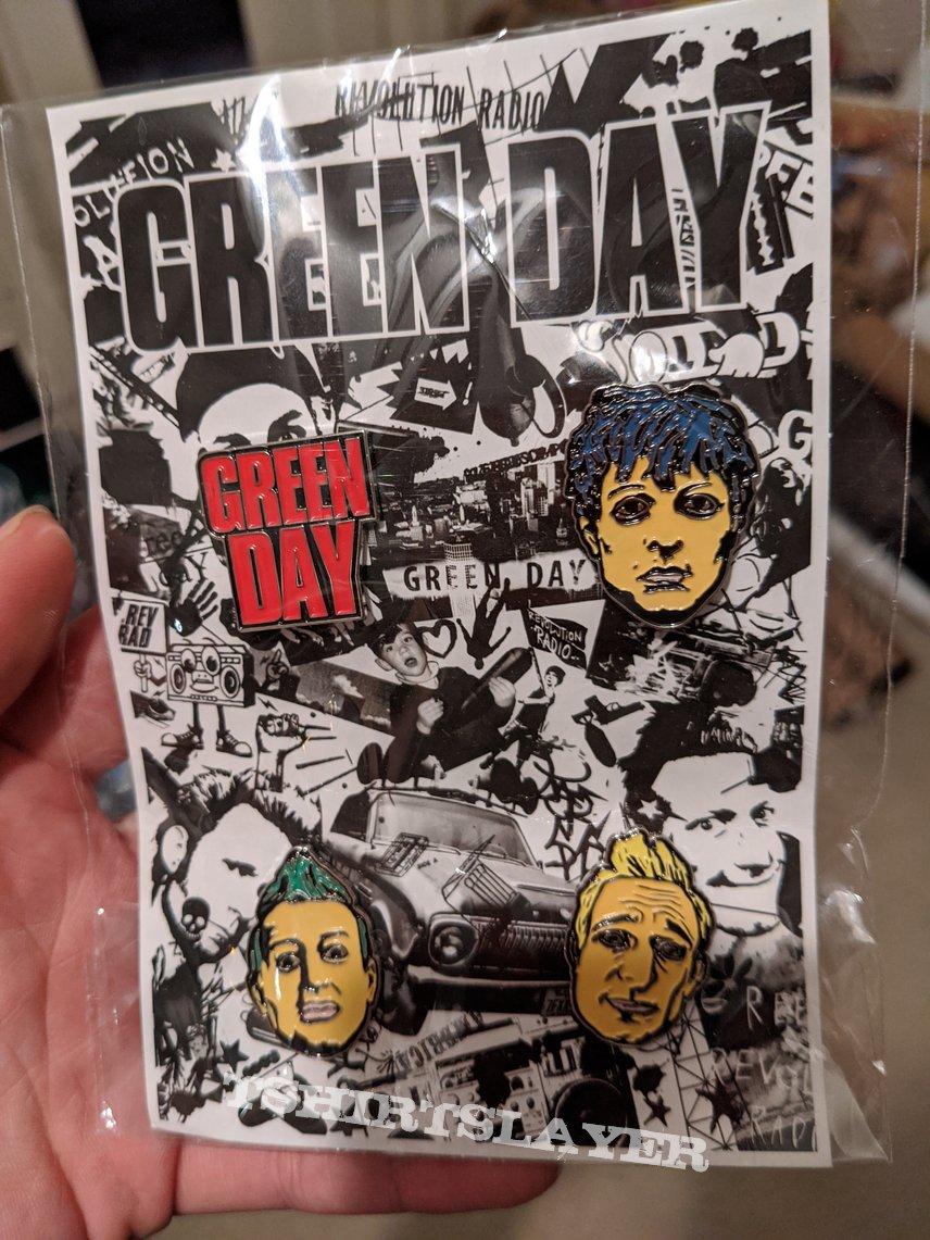 Green Day pin set