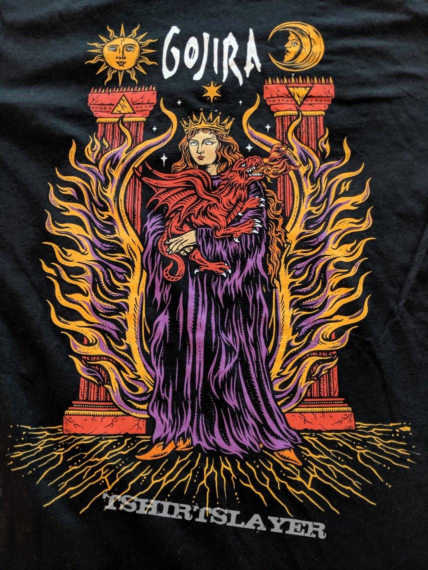Gojira - 2019 US tour shirt
