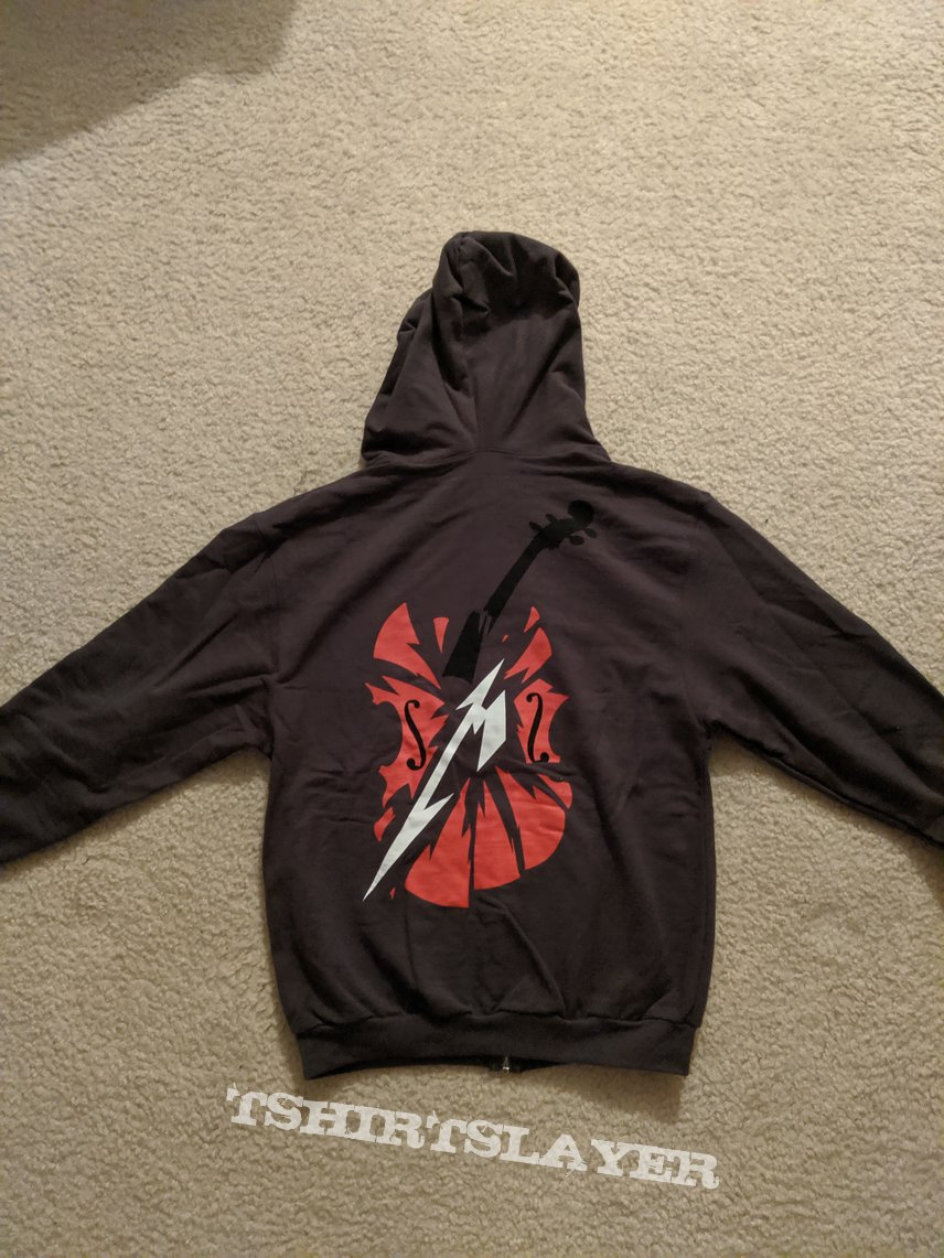 Metallica and San Francisco Symphony - S&M2 Together Again. Live gray hoodie