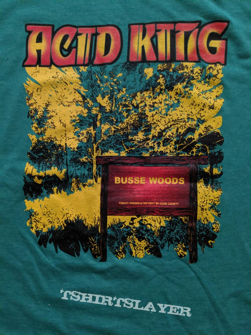 Acid King - Busse Woods 20th Anniversary t shirt