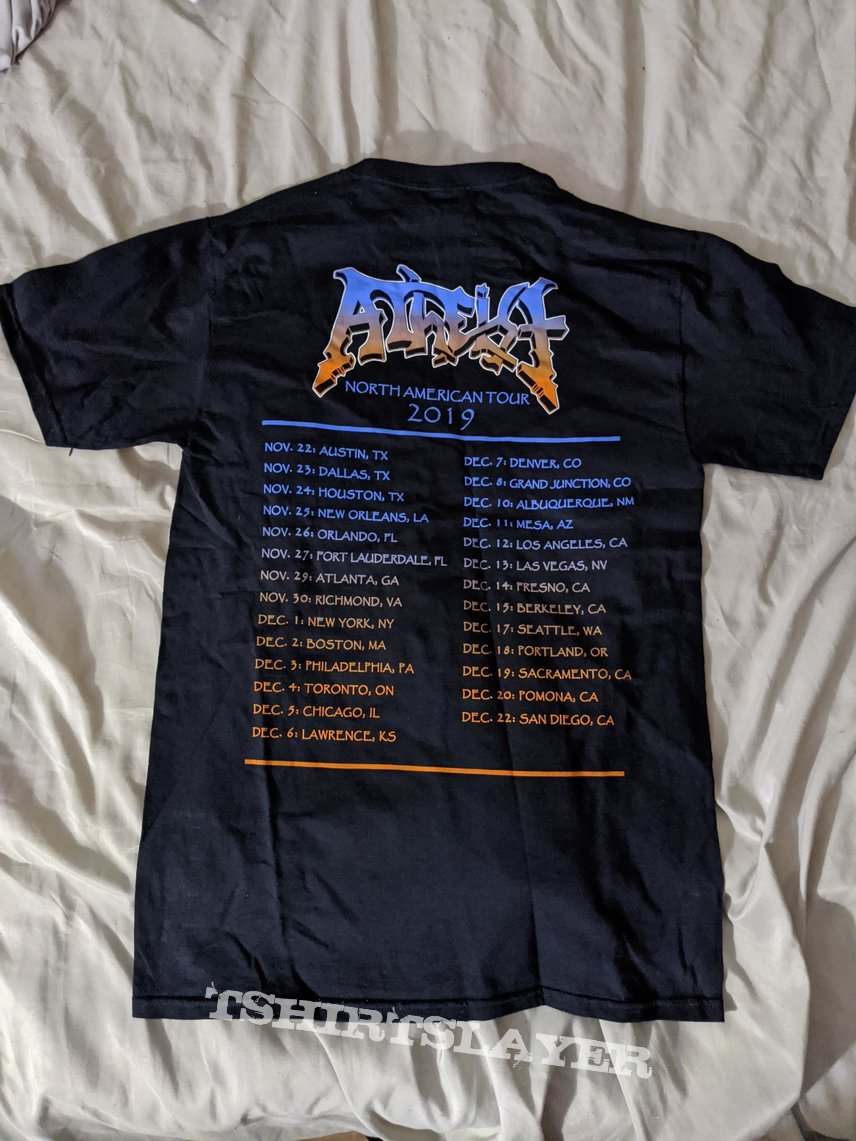 Atheist - 2019 North American tour shirt