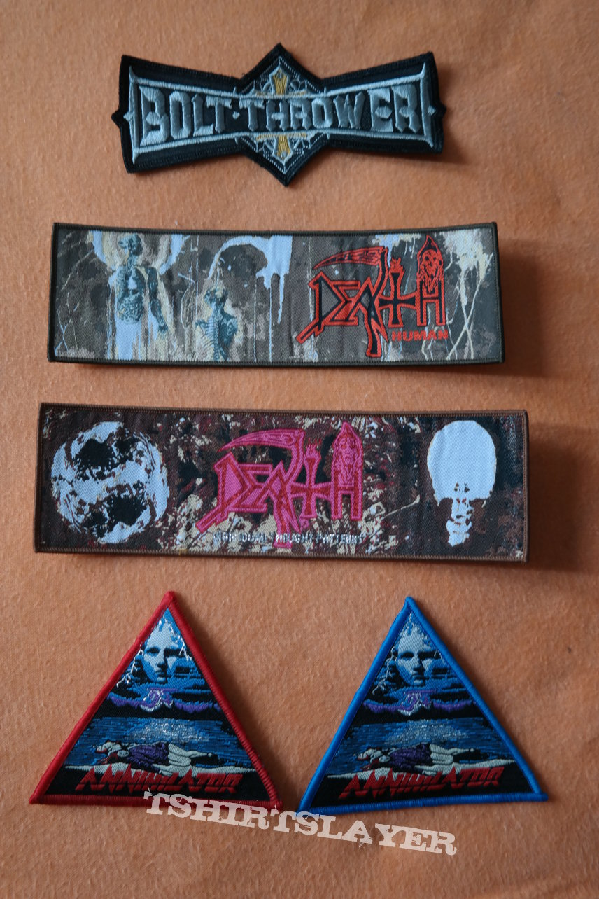 Various Metal Patches