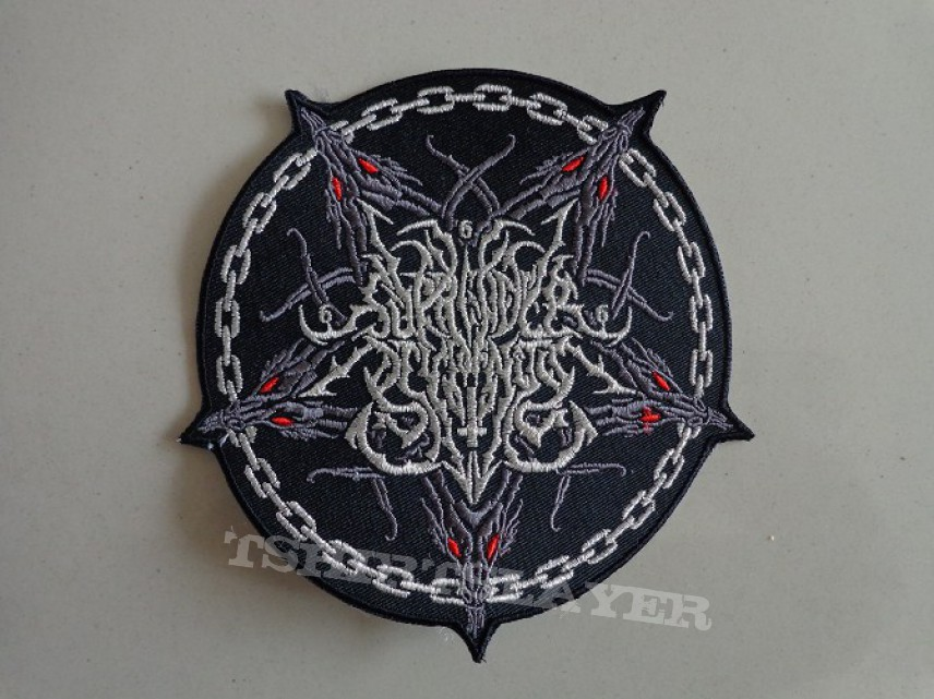 SURRENDER OF DIVINITY logo patch for sale on ebay,$0.99 starting bid!!!