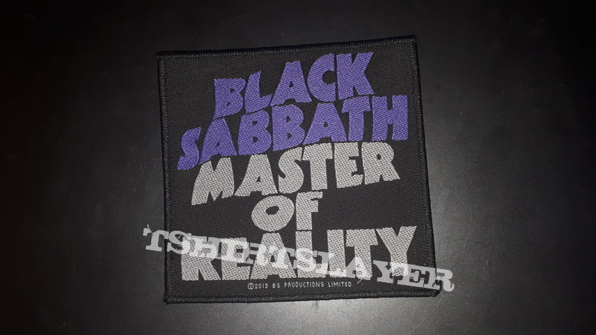 Master Of Reality patch