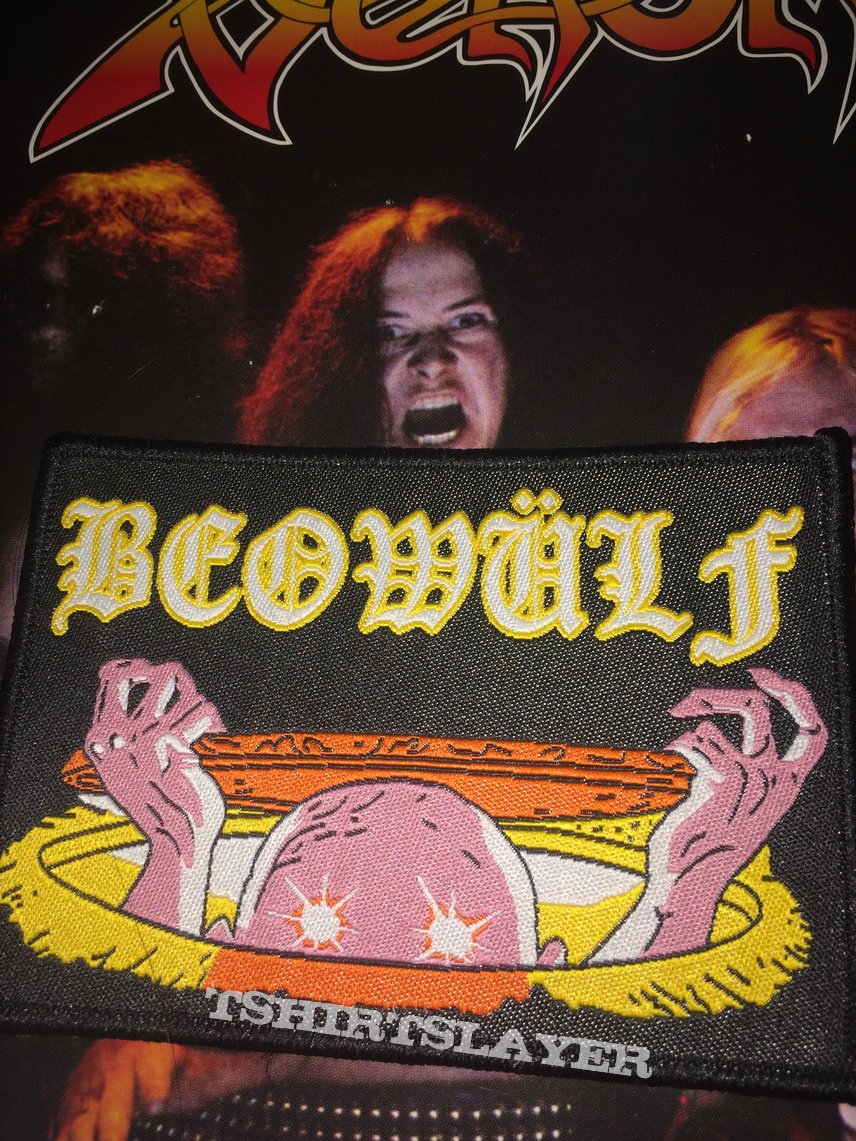 Beowulf Woven Patch