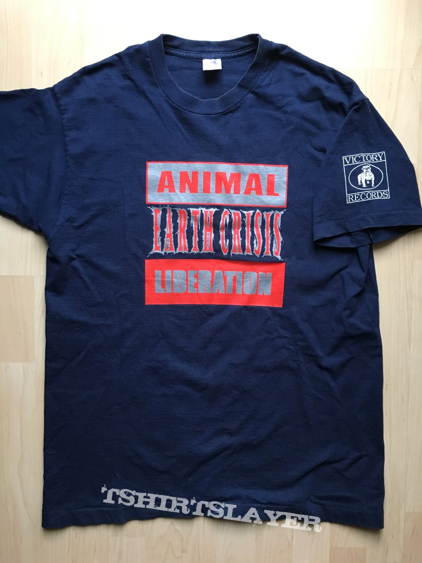"Earth Crisis ""Animal Liberation"" T-Shirt XL"