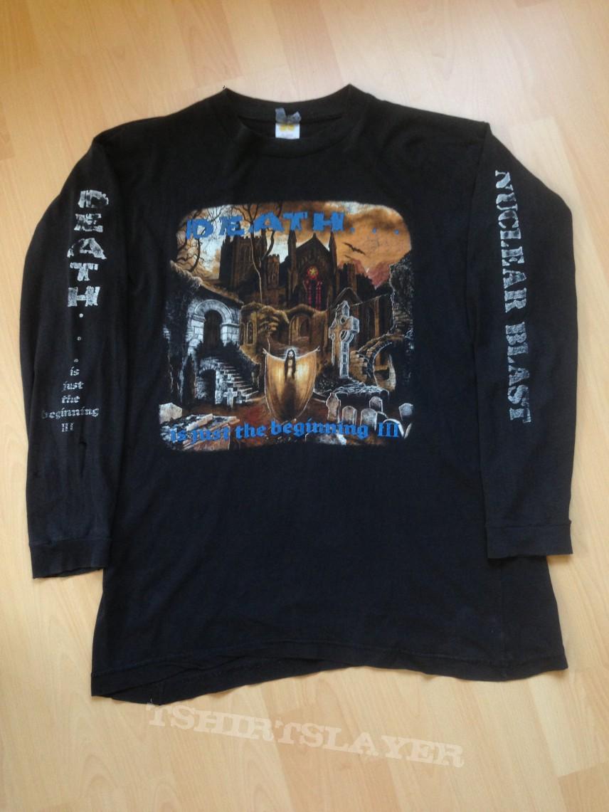 DEATH...is just the Beginning 3,original Nuclear Blast Longsleeve,1994