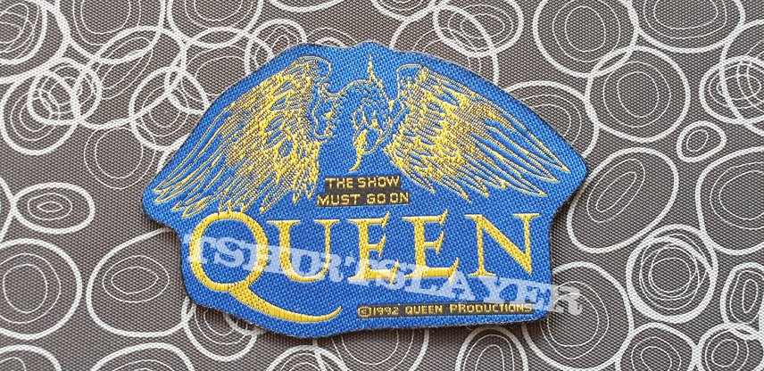 Queen- The Show must go on, original patch 1992