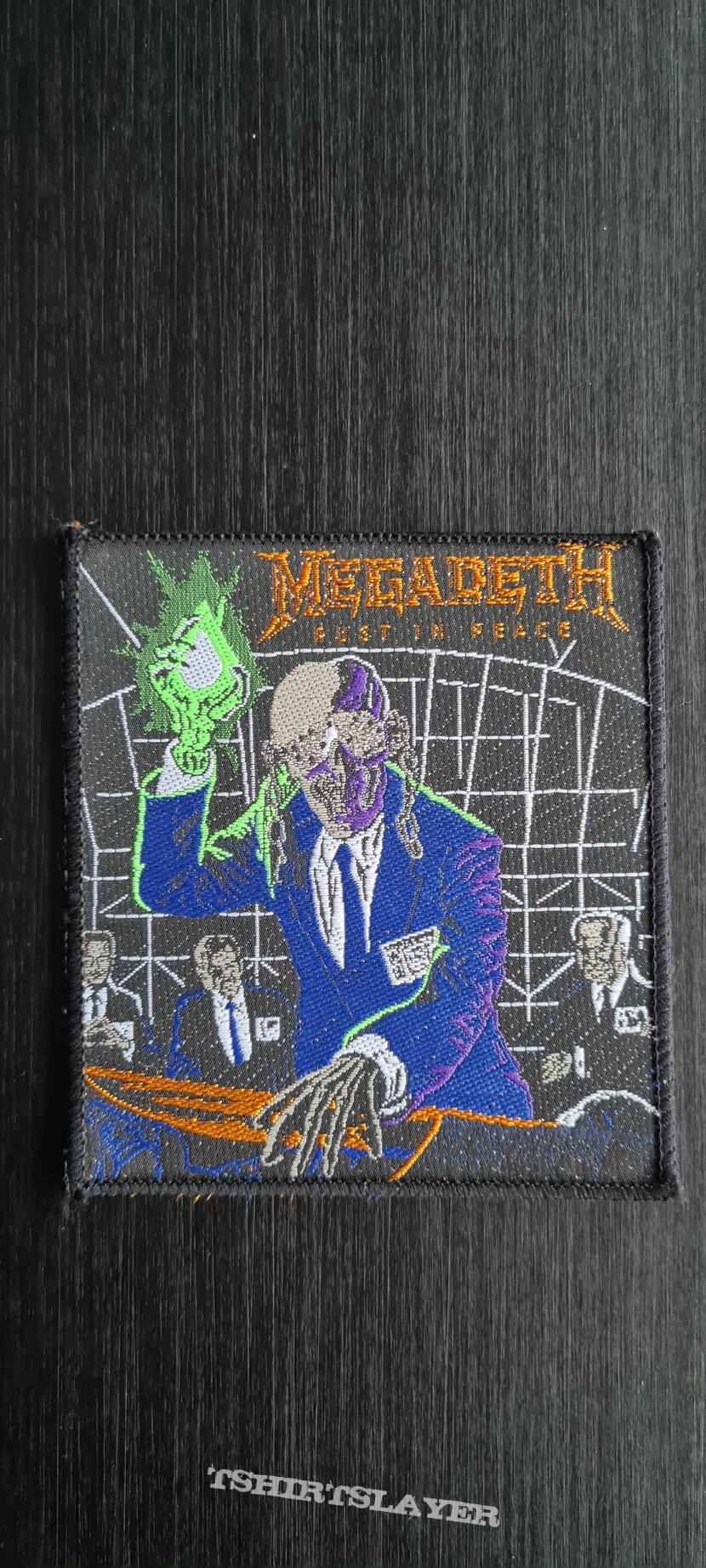 Megadeth- Rust in Peace, official patch