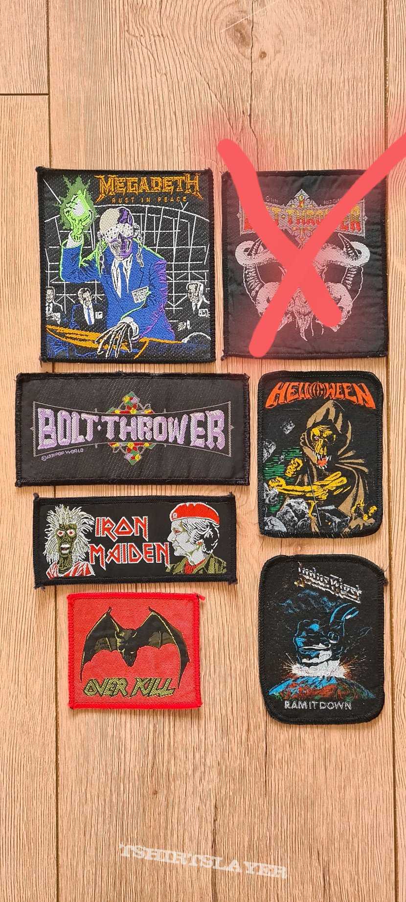 Selling some patches