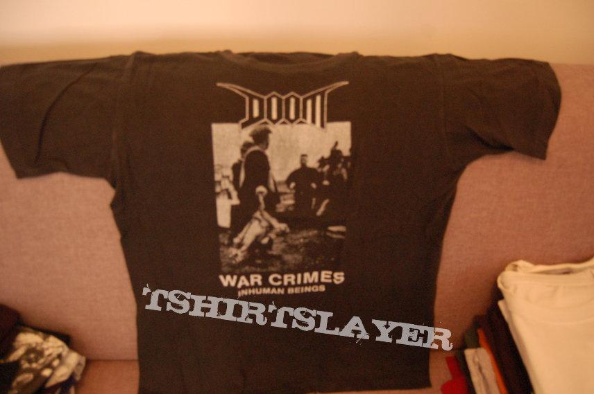 doom - war crimes - size large