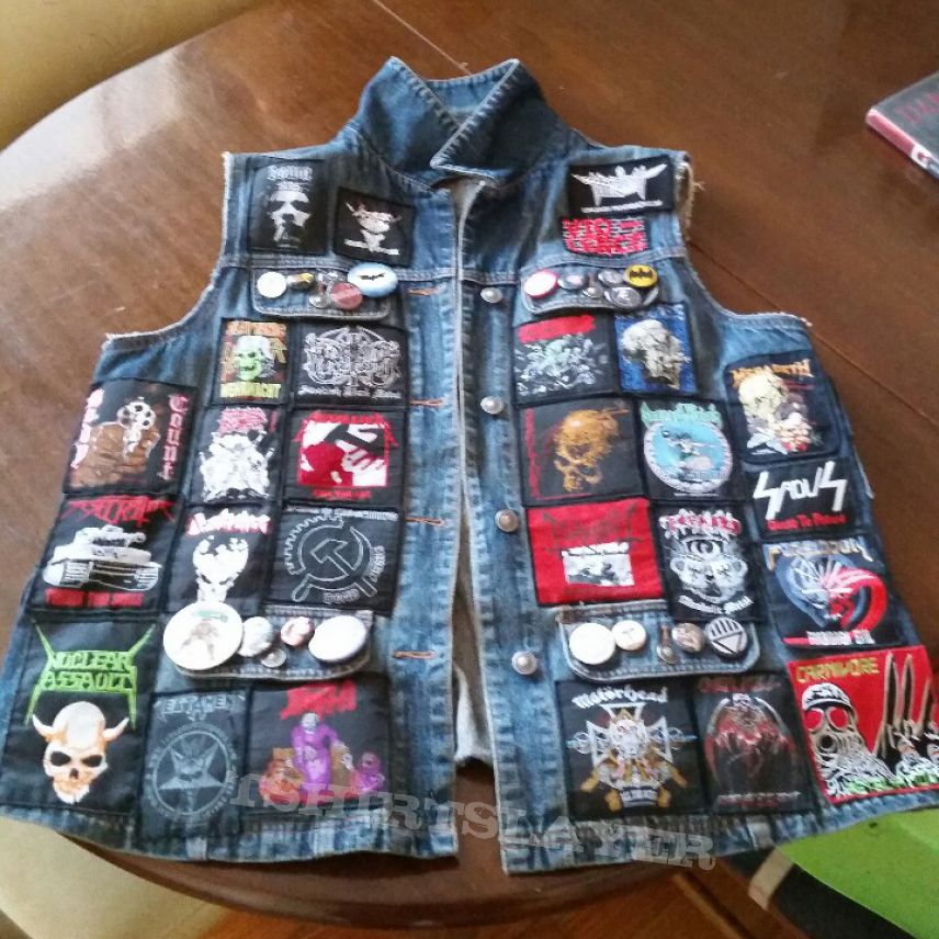 Battle Jacket Officially Complete