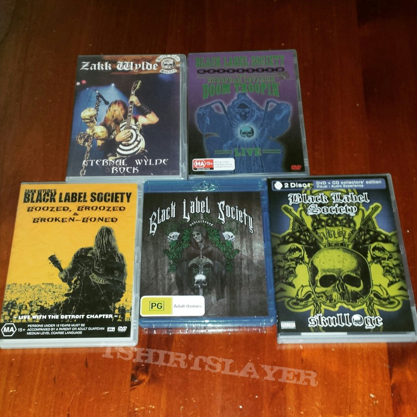 Black Label Society DVDs and Blurays