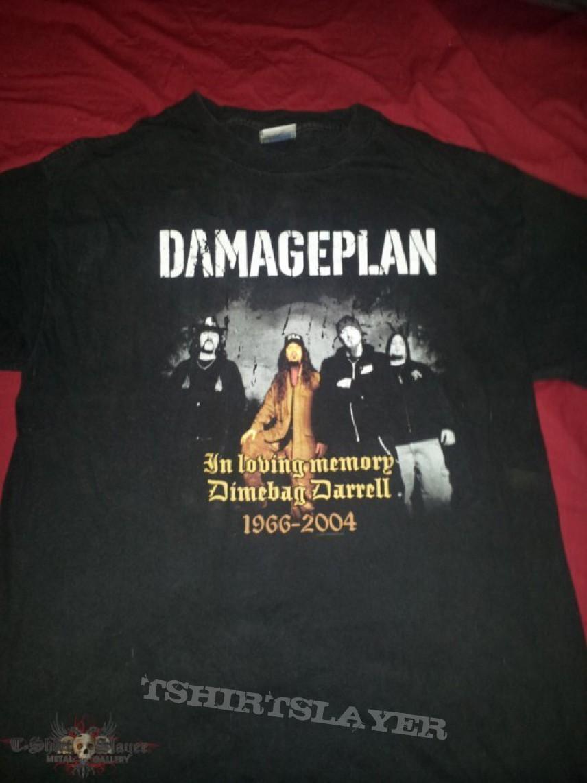 TShirt or Longsleeve - Damage Plan Dimebag Tribute