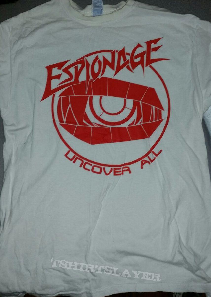 Espionage Uncover All shirt