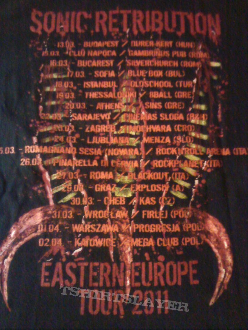 Death Angel 2011 Tour T-Shirt