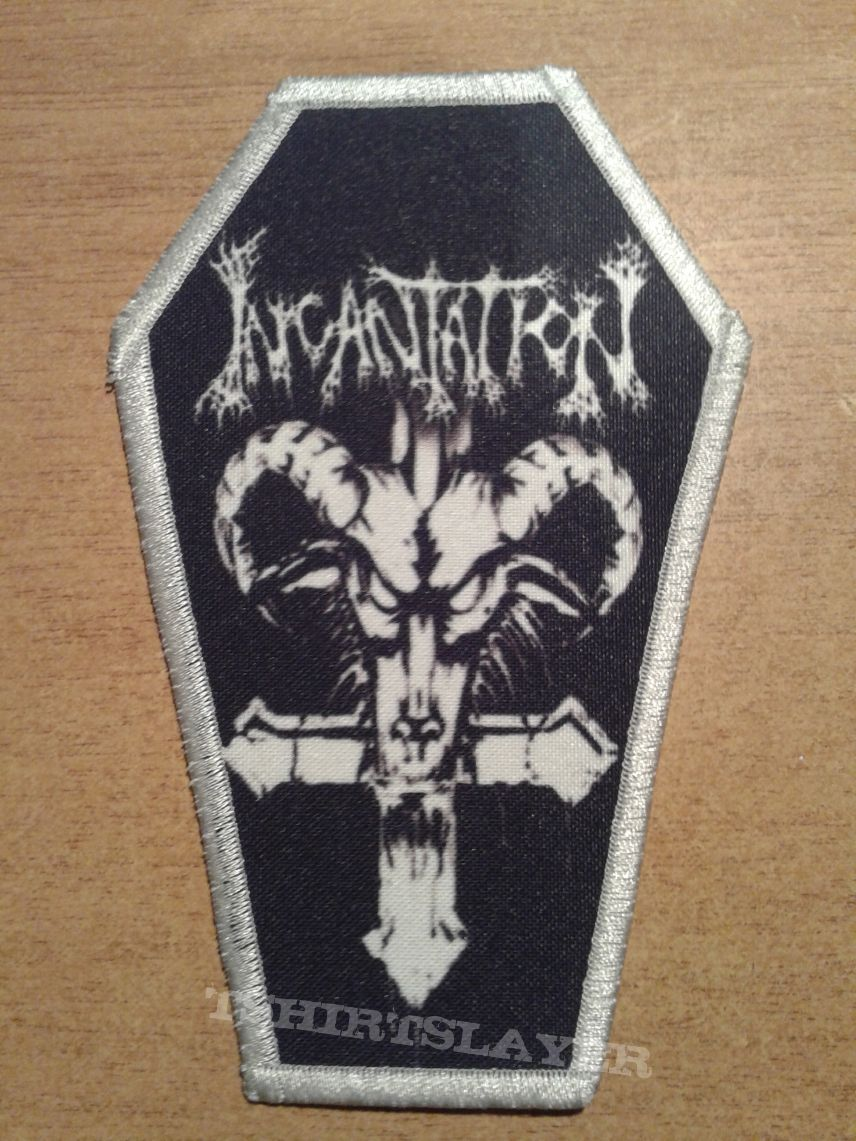 Incantation Goat Coffin Patch