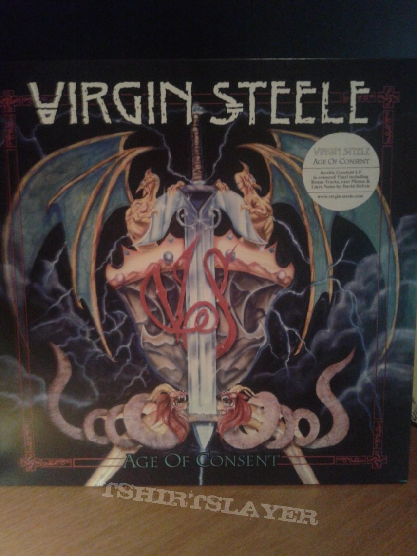 Virgin Steele ‎– Age Of Consent 2Lp